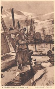 Metzeral 17 janvier 1916